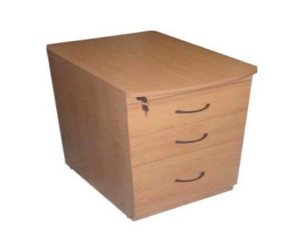 Archivero para escritorio 3 cajones mobiescuela mobiliario en tlaxcala - Escritorio cajones ...