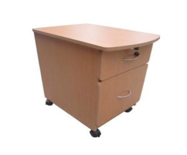 Archivero para escritorio 2 cajones mobiescuela mobiliario en tlaxcala - Escritorio cajones ...